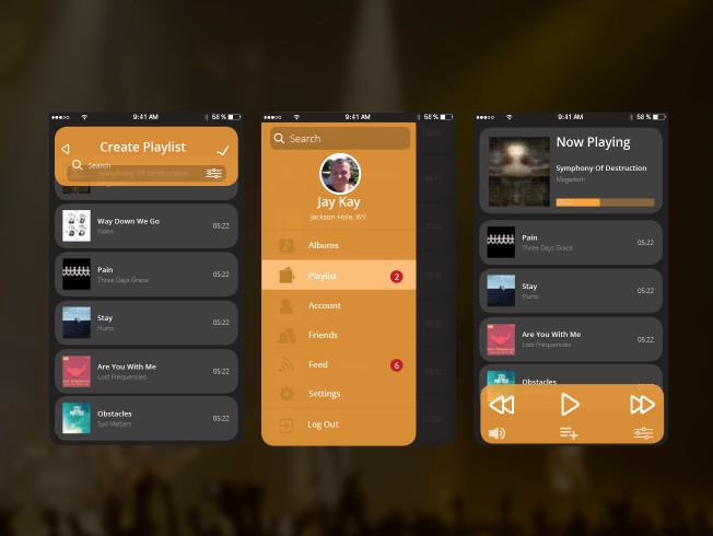 Audio Player UI