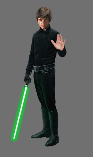 Luke Skywalker - work in progress