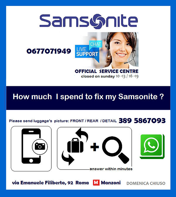 samsoniteprofessional support