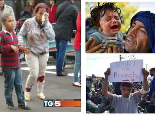L'orrore negli occhi dei bambini: Bruxelles come Idomeni