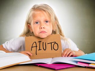 Bambino che non ama studiare o scuola sbagliata ?
