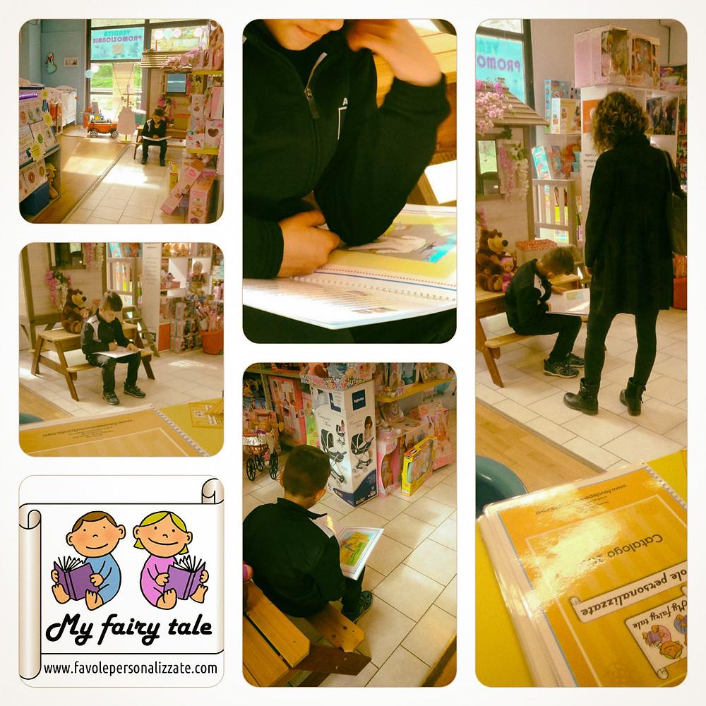 Favole personalizzate - Bambini che amano i libri