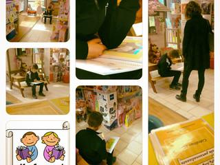 Bambini che amano i libri