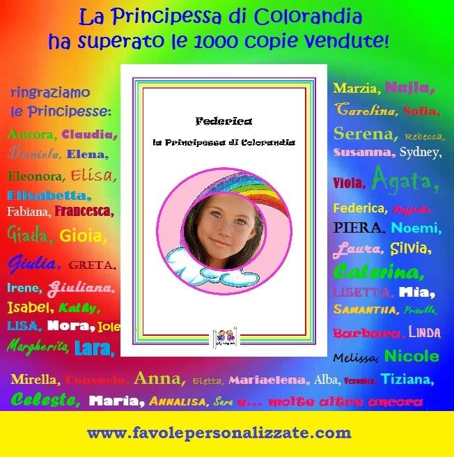 Favole Personalizzate - Principessa di COLORANDIA