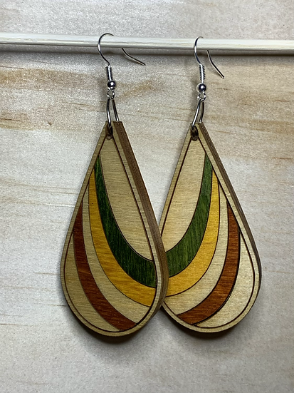 Ribbon Earrings #10