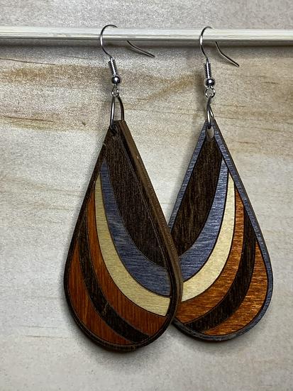 Ribbon Earrings #1