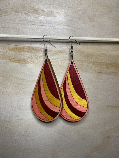 Ribbon Earrings- Oops!