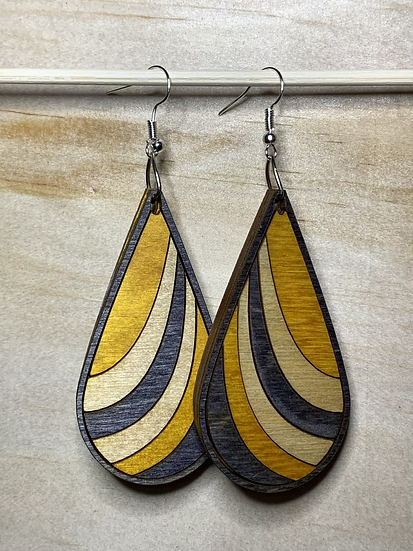 Ribbon Earrings #6