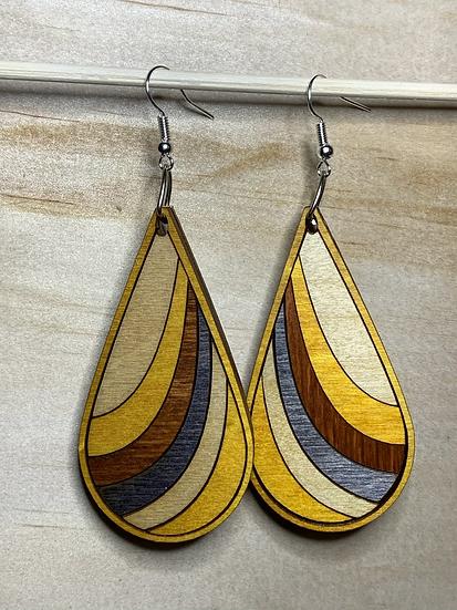 Ribbon Earrings #5