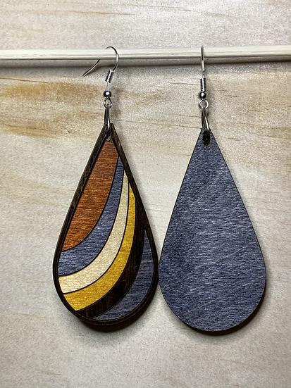 Ribbon Earrings #4