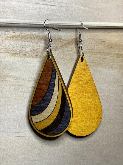 Ribbon Earrings #8