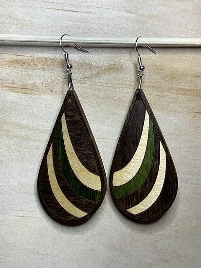 Ribbon Earrings #7