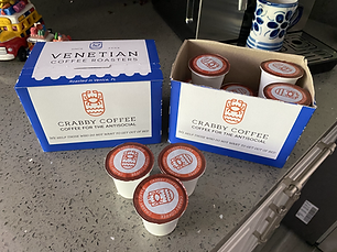 Crabby Coffee - Keurig Compatible Pods