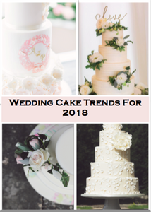 Broken Spoon Cakes | Wedding Cake Trends 2018
