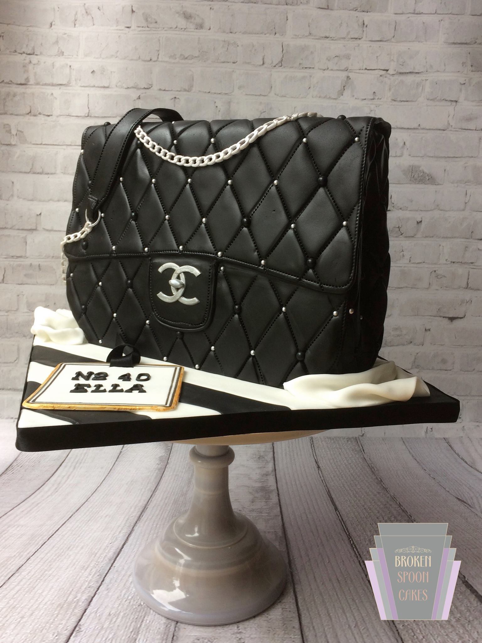 Chanel Handbag Cake