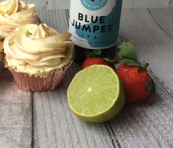 Strawberry & Lime IPA Cupcakes by Broken Spoon Cakes