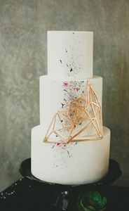 Hey There Cupcake | Geometric Cake