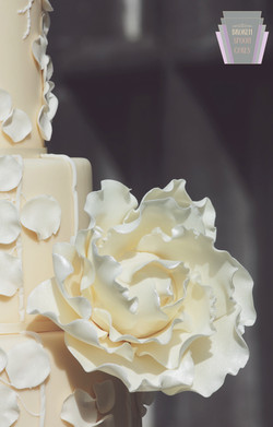 Calla Couture Cake Detail
