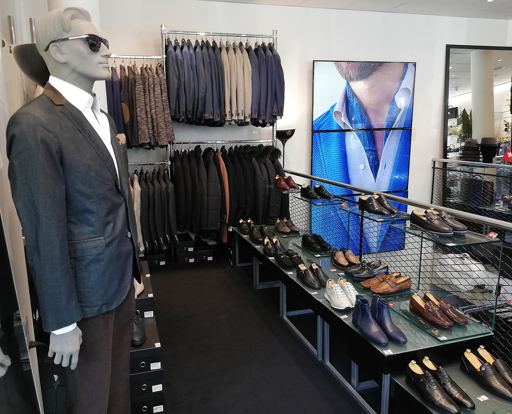 Mode et Chaussures Hommes Genève