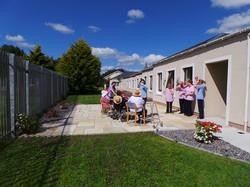 Sandstone patio area, Ballymote co