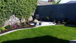 Town Garden, Patio area,