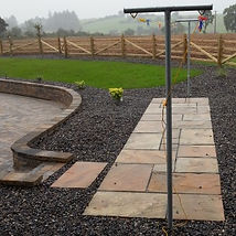 Clothes line picture, west of ireland_design_area_patio_