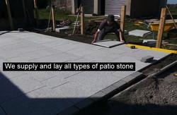 Patio stone