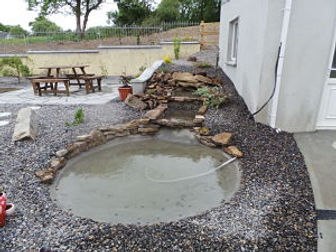 garden pond-water feature-pond