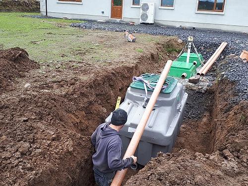 sewerage treatment system