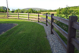 Timber picket fencing by flannery and sons Landscaping