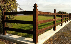 Fencing flannery and sons Landscaping sligo roscommon mayo and leitrim