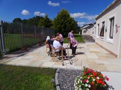 large patio area-mint sandstone