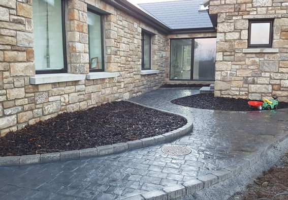 Garden edging-flannery and sons landscaping