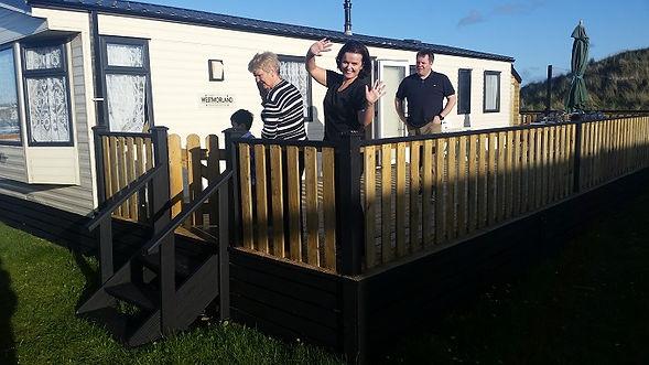 decking timber decking