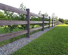 timber-post and rail-finching-sligo-ireland-flannery-landscaping