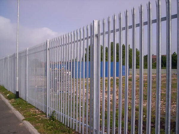 Galvanized-steel-security-fencing