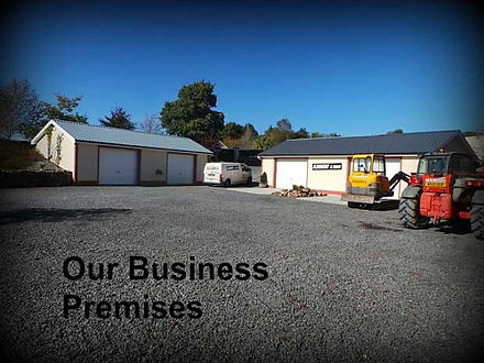 Our Business Yard. Flannery and sons Landscaping.