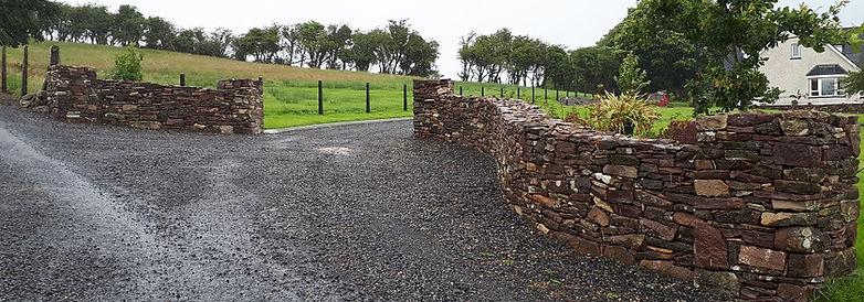 security wall- Block wall-large wall