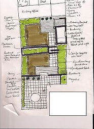 Garden design, Garden drawing, Garden design sligo