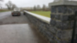garden wall-boundary wall-house wall