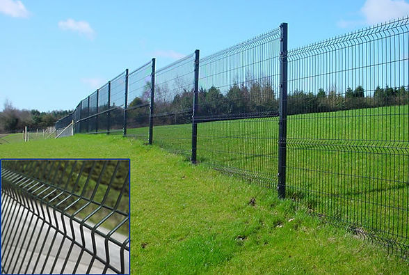 welded mesh panel fencing from flannery and sons