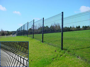 security fencing, steel security fencing
