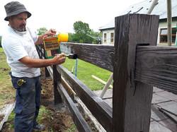 timber effect fencing sligo