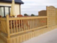 house decking, home decking, footpath decking