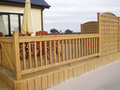 house decking, home decking, footpath decking