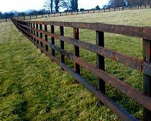 timber_post_and_rail_fencing_garden construction service