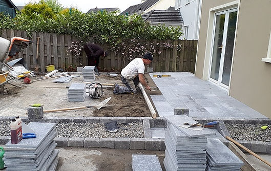 Patio-laying