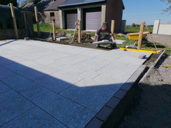 flannery and sons landscaping supply and lay all types of patio stone