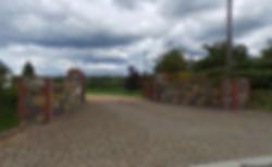 garden stone wall-boundary wall-house wall