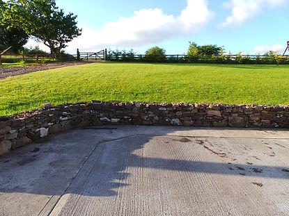 garden stone wall-stone walls-stonework- stone sligo